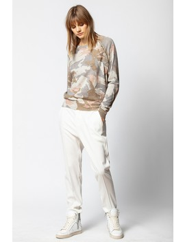 Justy Cachemire Camou Sweater by Zadig & Voltaire