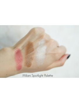 Milani Spotlight Face & Eye Strobe Palette 02 Candle Light 5g   Free Shipping by Milani