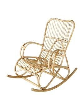 Rattan Rocking Chair    Louisiane by Maisons Du Monde