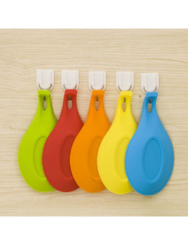 Silicone Pad Spatula Tool Spoon Mat Eggbeater Kitchen Gadget Dish Holder Pad by Unbranded