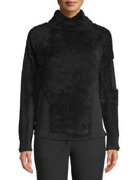 Athletic Works Women's Sherpa Pullover Jacket by Athletic Works