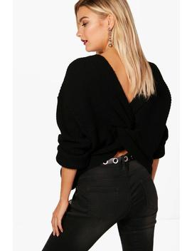 Pull Court Torsadé by Boohoo
