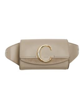 Grey 'chloé C' Belt Bag by ChloÉ