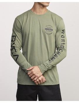 Bj Penn Arc Drirelease Long Sleeve T Shirt by Rvca