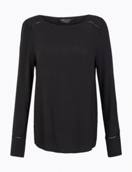 Long Sleeve Top by Marks & Spencer