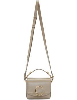 Grey Mini 'chloé C' Bag by ChloÉ