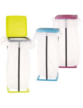 60 L Collapsible Bin Bag Stand Plastic Garbage Waste Rubbish Refuse Sack Holder by Easygift Products