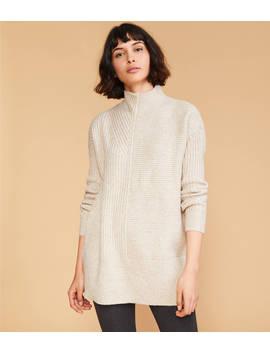 Mixrib Tunic Sweater by Lou & Grey