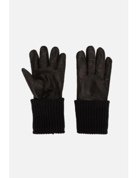 Leather Gloves by Ami Paris