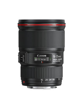 Ef 16 35 Mm F/4 L Usm Is Wide Angle Zoom Lens   Black by Currys