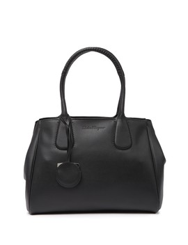 Royal Doubler Leather Tote Bag by Salvatore Ferragamo
