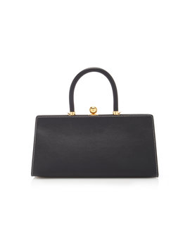 Sister Leather Top Handle Bag by Ratio Et Motus