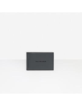 Cash Bill Clip Square Wallet by Balenciaga