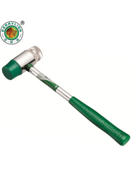 Berrylion 25mm Rubber Hammer Auction Installation Hammer Mallet With Steel Handle Hand Tools by Ali Express.Com