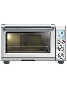 Breville Smart Oven Pro Convection Toaster Oven   0.8 Cu. Ft.   Die Cast Stainless by Best Buy