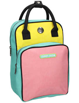 Colorblock Mini Backpack by Teddy Fresh