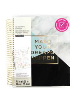 Creative Year Medium Dreams To Do Spiral Planner By Recollections™ by Recollections