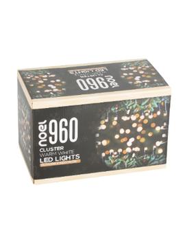 960 Led Cluster Lights   Warm White by Noel