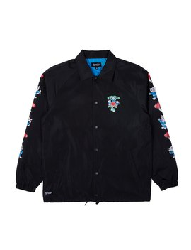 Alien Nerm Coaches Jacket (Black) by Ripndip