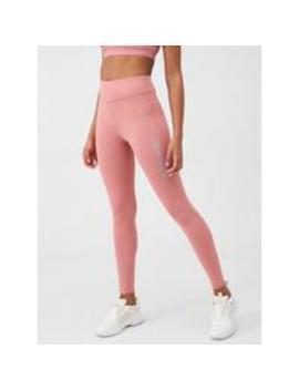 Brushed Full Length Leggings   Dusty Pink by Calvin Klein Performance