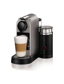 By Krups Citiz & Milk Xn760 B40 Coffee Machine   Silver by Currys