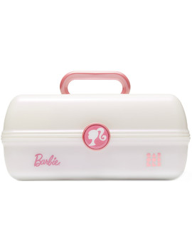 Barbie On The Go Girl In White Iridescent by Caboodles