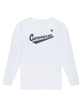 Womens Script Long Sleeve Tee by Converse