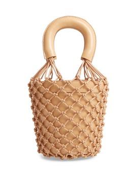 Moreau Cage Bucket Bag by Staud