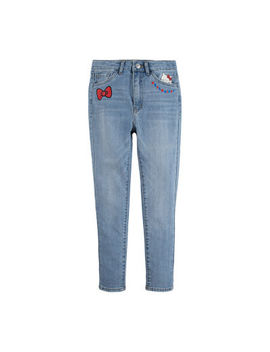 Levi's Girls Hello Kitty Skinny Flat Front Pant Toddler by Levi