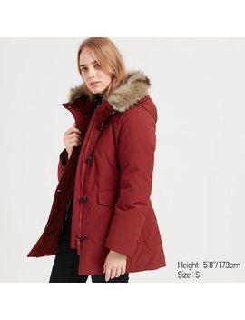 Women Ultra Warm Hybrid Down Coat (2) by Uniqlo