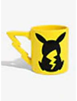 Pokemon Pikachu Tail Handle Mug by Box Lunch