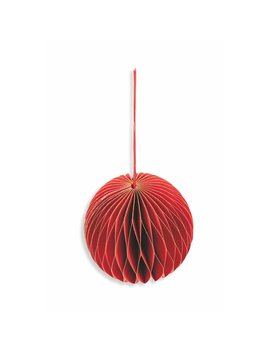 Mill Made Paper Small Christmas Bauble by Villa D'este Home