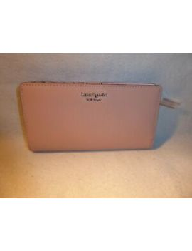 Kate Spade Blush Pink Warm Vellum Cameron Street  Stacy  Slim Fold Over Wallet. by Ebay Seller