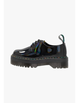 Quad Rainbow   Lace Ups by Dr. Martens