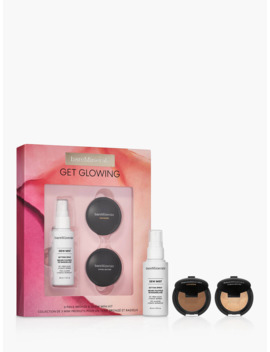 Bare Minerals Get Glowing Bronze & Glow Mini Makeup Gift Set by Bareminerals