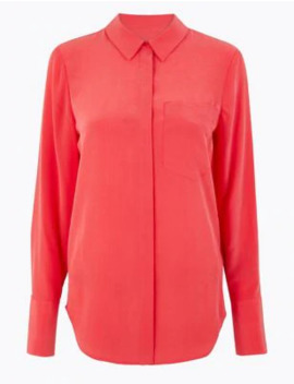 Pure Silk Shirt by Marks & Spencer