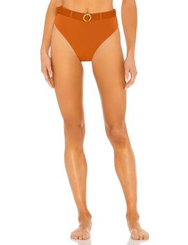 Emily Bikini Bottom In Bran by We Wore What