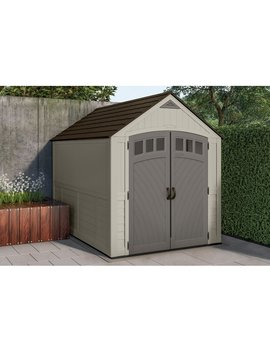 Blow Molded 7.375 Ft. W X 10.375 Ft. D Plastic Storage Shed by Suncast