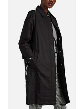 Logo Detailed Econyl® Car Coat by Burberry