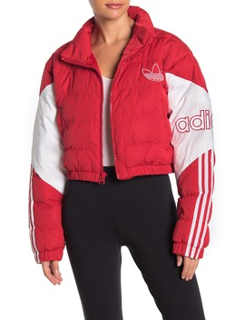Cropped Puffer Jacket by Adidas