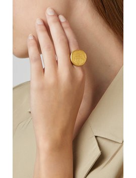One Of A Kind 22k Gold Ancient Coin Ring by Eli Halili