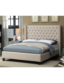 Meridian Ashton Wingback Upholstered Bed by Meridian Furniture