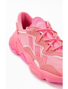 Adidas Pink Ozweego Shoes by Pacsun