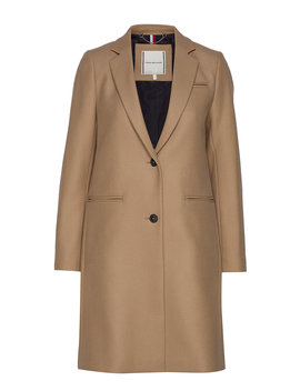 Belle Wool Blend Classic  Coat by Tommy Hilfiger