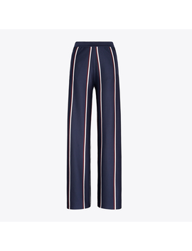 Twin Stripe Track Pants by Tory Burch