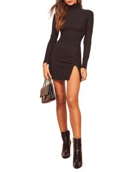 Libra Long Sleeve Minidress by Reformation