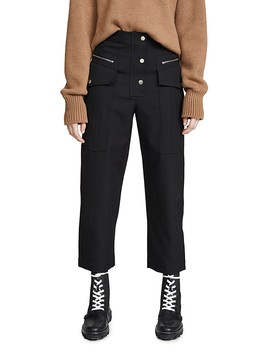 Wool Snap Cargo Pants by 3.1 Phillip Lim