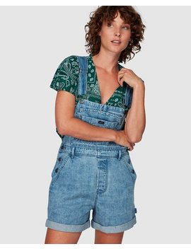 Sloucher Denim Overall by Rvca