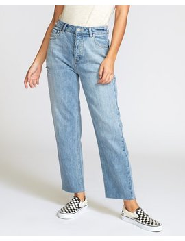 Holli High Rise Straight Jeans by Rvca