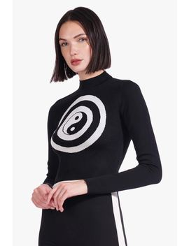 Longsleeve Nat Top | Black White by Orchard Mile